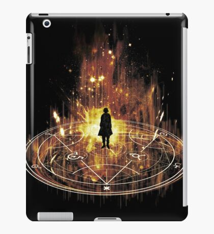 transmutation-red iPad Case/Skin