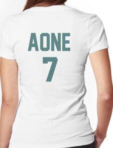 Haikyuu!! Takanobu Aone (Date tech) Womens Fitted T-Shirt