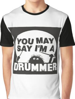Drums Graphic T-Shirt