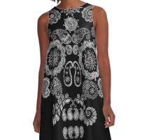 El Bigote A-Line Dress