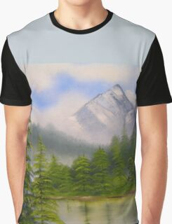 morning in the mountains Graphic T-Shirt