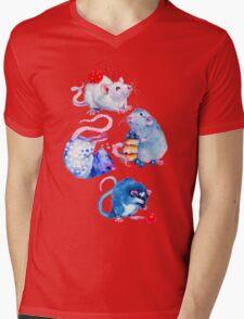 Sweet Rats Mens V-Neck T-Shirt