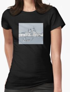 Venice Womens Fitted T-Shirt