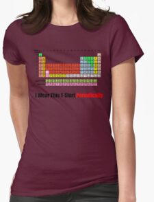 I Wear This Tshirt Periodically  Womens Fitted T-Shirt