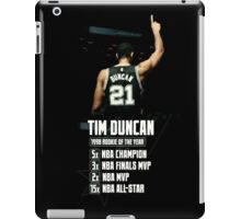 Tim Duncan NBA Champions iPad Case/Skin