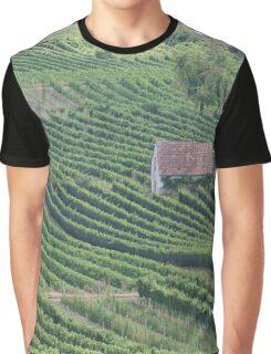 Vineyards am Wagram, Lower Austria Graphic T-Shirt