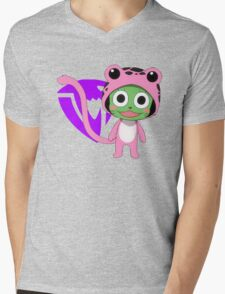 frosch Mens V-Neck T-Shirt