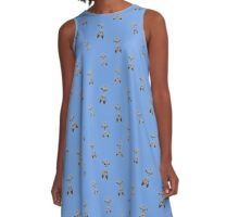 People Of The Sea A-Line Dress