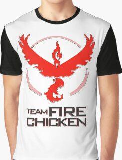 Team Fire Chicken Graphic T-Shirt