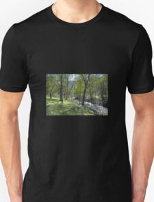Fast flowing river Unisex T-Shirt