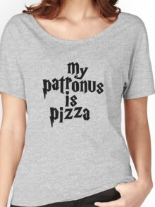 my patronus is a pizza Women's Relaxed Fit T-Shirt