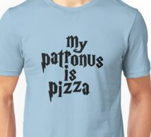 my patronus is a pizza Unisex T-Shirt