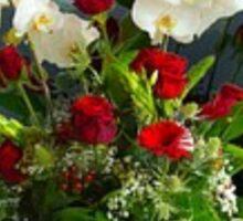 vase of flowers Sticker