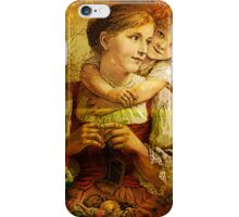 MOTHER AND ME 2 iPhone Case/Skin