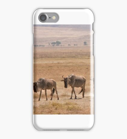 Watching The Late Gnus iPhone Case/Skin