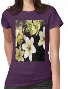 Lillies Womens Fitted T-Shirt