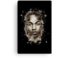 Kendrick Lamar Splatter  Canvas Print