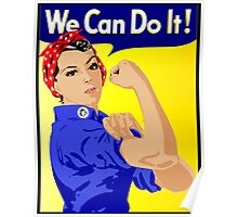We Can Do It Feminist Poster