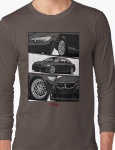 BMW E92 (black) Long Sleeve T-Shirt
