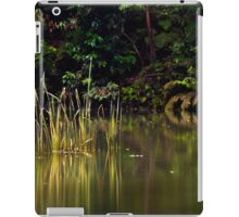 Blue Pool reflections III iPad Case/Skin
