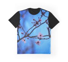 Blossom in Blue Graphic T-Shirt