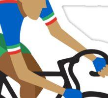 Olympics Italy cycling Sticker