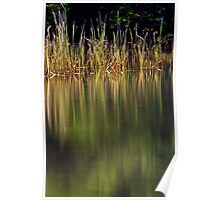 Blue Pool Reflections II Poster
