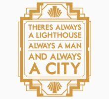 Always a Lighthouse One Piece - Short Sleeve