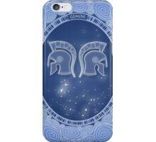 Gemini - Zodiac air sign iPhone Case/Skin