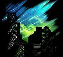 Alien night skies by moncheng