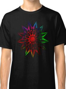 Colorful Geometric Abstract Vector Star Classic T-Shirt