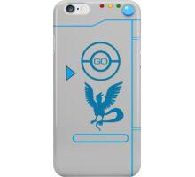 Pokemon Go Pokedex Team Mystic grey phone case  iPhone Case/Skin