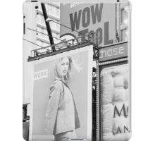 New York City Times Square 2000 Advertising Billboards iPad Case/Skin
