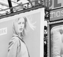 New York City Times Square 2000 Advertising Billboards Sticker