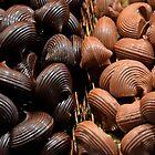 Dark and light chocolate by Arie Koene