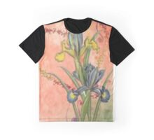 heart and lily Graphic T-Shirt