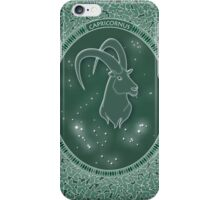 Capricornus - Zodiac earth sign iPhone Case/Skin