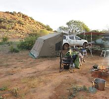 Camp site at Baladjie Rock by BigAndRed