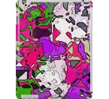 Ink shapes iPad Case/Skin