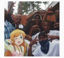 Anime gangster x black cartoon by DeadWombatTV