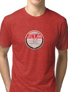 England World Cup 1966 Tax Disk Tri-blend T-Shirt