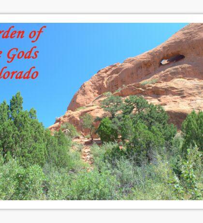 Garden of the Gods #10 Sticker