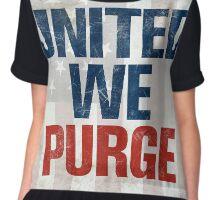 The Purge United We Purge 2016 New Chiffon Top