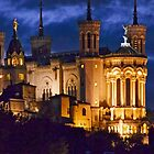 Basilica By Night by phil decocco