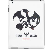 Pokemon Go Team Valor Charmander Evolution iPad Case/Skin