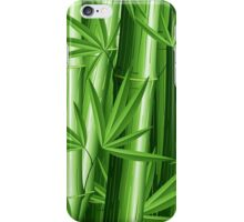 Bamboo Jungle Zen iPhone Case/Skin