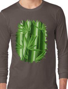 Bamboo Jungle Zen Long Sleeve T-Shirt