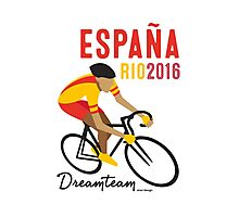 Olympics Spain Cycling Photographic Print