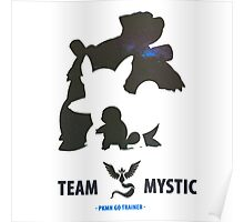 Pokemon Go Team Mystic Squirtle Evolution Poster