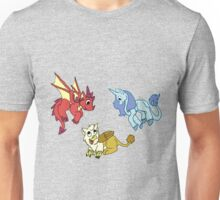 Cute Mythical Critters Unisex T-Shirt